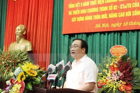 Hà Nội đẩy mạnh xã hội hóa xây dựng nông thôn mới ảnh 1