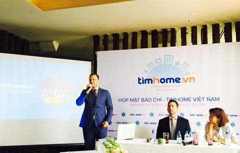 """Ra mắt """"trung tâm BĐS trực tuyến"""" Timhome.vn ảnh 1"""