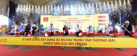 Hoa Sen 1.200 tỷ đồng xây tổ hợp khách sạn ảnh 1