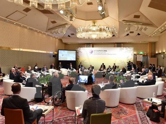 Hội nghị G7 thảo luận thúc đẩy tăng trưởng kinh tế ảnh 1