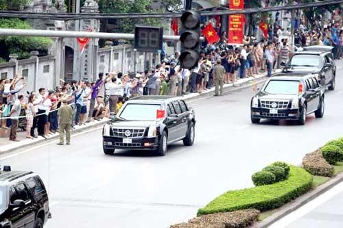 Cấm nhiều tuyến đường khi đoàn ông Obama thăm TP.HCM ảnh 1