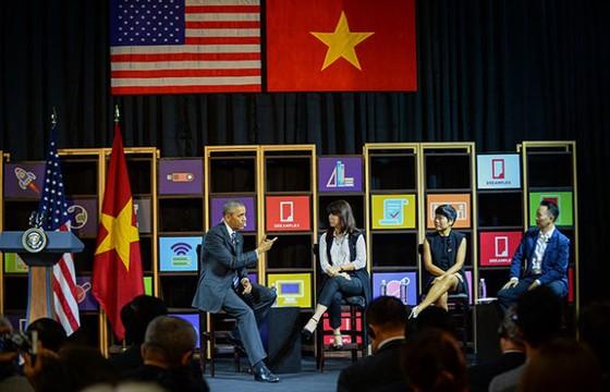 Ấn tượng Tổng thống Obama làm MC ảnh 1