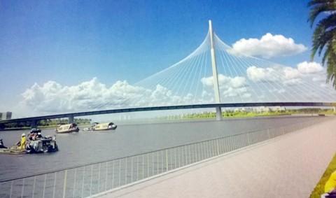 Duyệt thiết kế kiến trúc 2 cầu nối bán đảo Thanh Đa ảnh 1