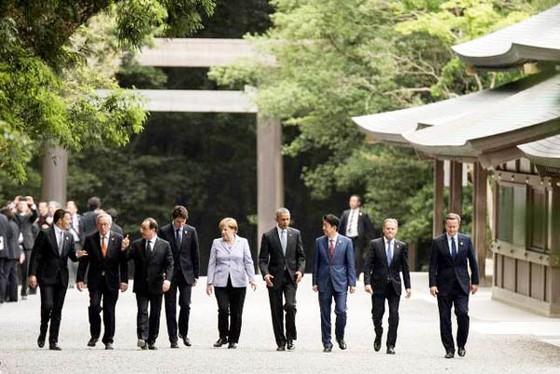 Thượng đỉnh G7 khai mạc tại Nhật Bản ảnh 1