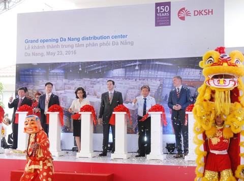 DKSH khánh thành trung tâm phân phối mới Đà Nẵng ảnh 1
