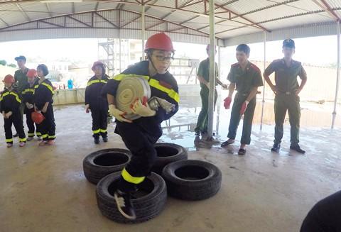 Trại hè lính cứu hỏa nhí - 2016 ảnh 5