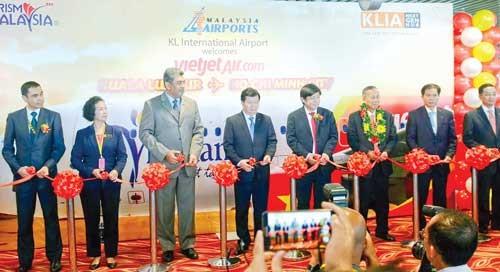 Vietjet khai trương đường bay TPHCM-Kuala Lumpur ảnh 1