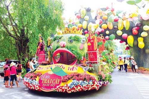 Lễ hội trái cây Nam bộ ảnh 1