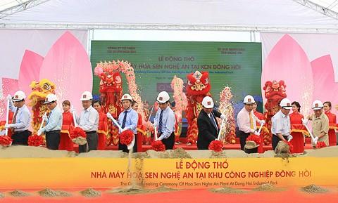 Hoa Sen Nghệ An SX tôn thương phẩm ảnh 1