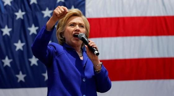 Bà H. Clinton ứng viên chính thức đảng Dân chủ ảnh 1