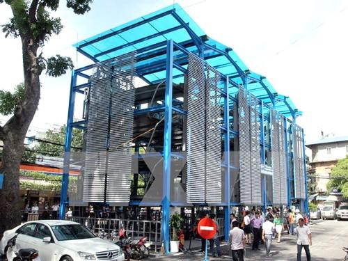 Hà Nội kêu gọi dự án xã hội hóa bãi đỗ xe ảnh 1