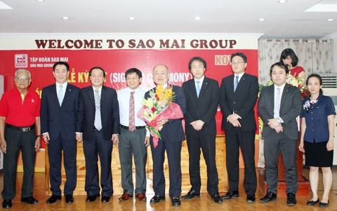 Sao Mai ký kết hợp tác bổ sung Koyo Corporation ảnh 1