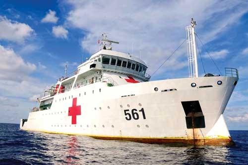 Bệnh viện 5 sao trên biển Đông ảnh 1