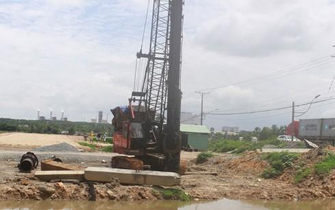 Hàng loạt dự án giao thông chậm tiến độ ảnh 1