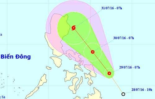 Sắp có cơn bão mới ở biển Đông ảnh 1