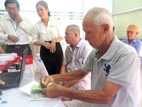 Lương hưu tăng 8% ảnh 1