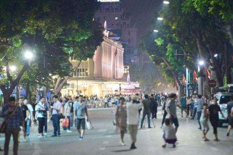 Hà Nội khai trương phố đi bộ khu vực hồ Gươm ảnh 3