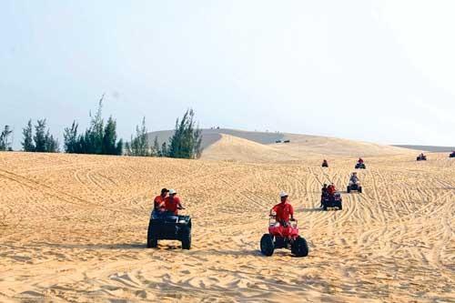 Về miền cát trắng ảnh 4