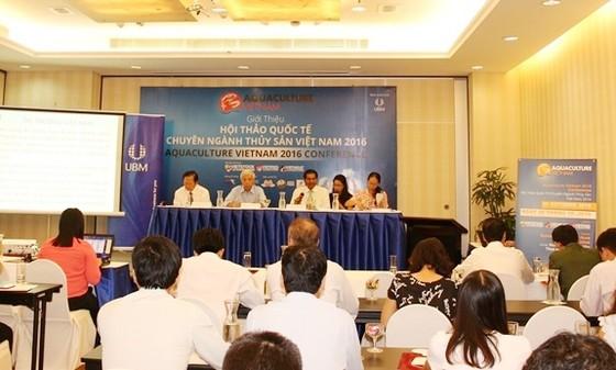 Hội thảo Quốc tế thủy sản Việt Nam 2016 ảnh 1