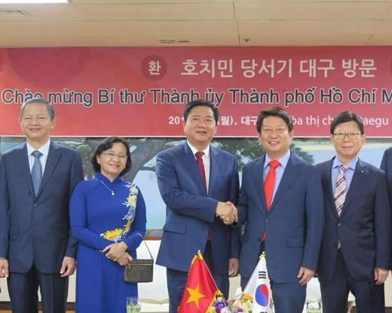 Mời DN Daegu tham gia chương trình trọng điểm TPHCM ảnh 1