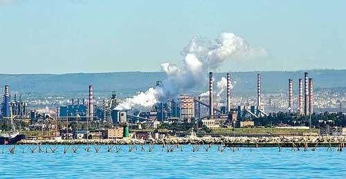 Nhà máy thép – lò ô nhiễm ảnh 1