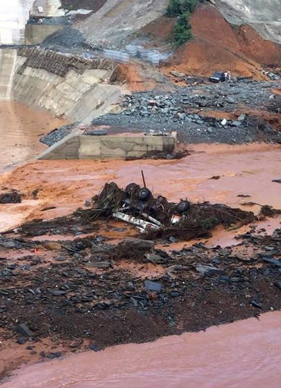 Thủy điện Sông Bung 2: Nước chưa cao, van đã vỡ ảnh 1