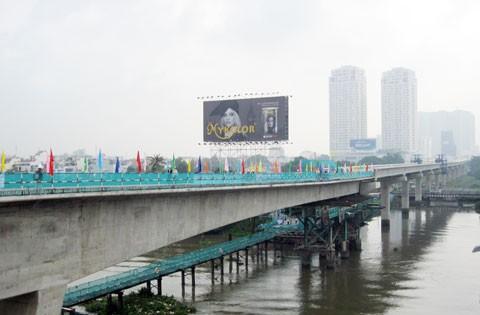 Hợp long cầu Sài Gòn thuộc dự án tuyến metro số 1 ảnh 1