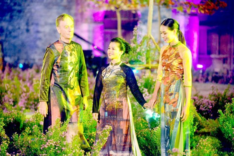 Khai mạc Festival Áo dài Hà Nội năm 2016 ảnh 3