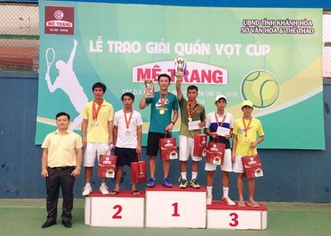 Bế mạc Giải quần vợt các CLB Khánh Hòa mở rộng ảnh 1