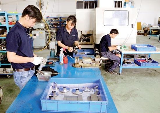 Tạo điều kiện DNNVV vào khu công nghiệp ảnh 1