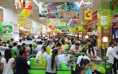 Sức mua tại nhiều siêu thị tăng khoảng 20% ảnh 1