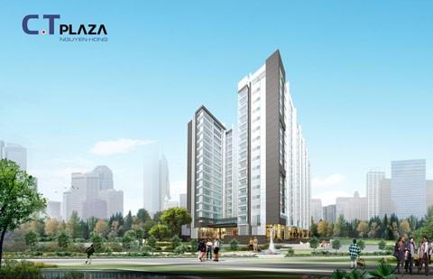 C.T Plaza Nguyên Hồng: Mỗi căn hộ một tuyệt tác ảnh 1