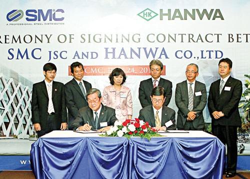 SMC hợp tác Hanwa Corp: Gắn kết cùng thành công ảnh 1