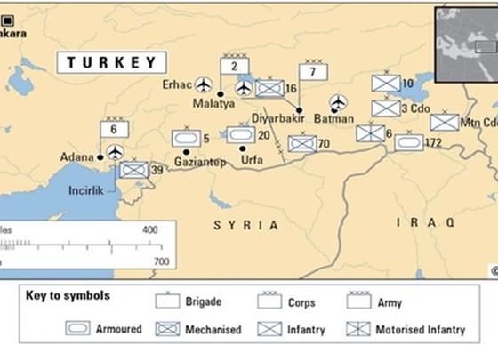Quan hệ và lợi ích ở Syria ảnh 1