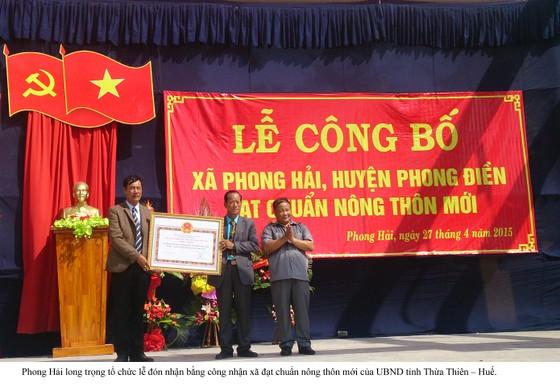 Thừa Thiên-Huế: Xã bãi ngang ven biển đầu tiên đạt chuẩn nông thôn mới ảnh 1