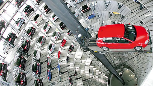 Công nghệ bãi đỗ xe tự động ảnh 1