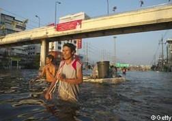 Thái Lan: Một phần Bangkok chìm trong nước ảnh 1