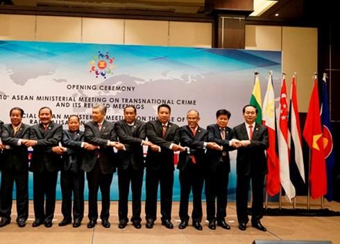 ASEAN thông qua Tuyên bố chung phòng chống tội phạm xuyên quốc gia ảnh 1