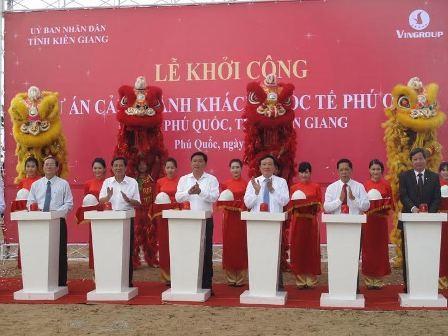 Phú Quốc khởi công cảng quốc tế đón tàu 5 sao ảnh 1