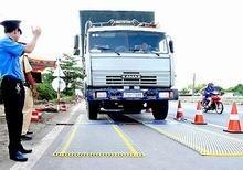Thanh tra hoạt động kiểm soát xe quá tải ảnh 1