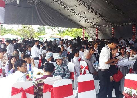 1.000 khách hàng dự lễ mở bán Cát Tường Phú Thạnh ảnh 1