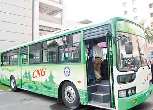 Phát triển xe buýt sử dụng CNG ảnh 1