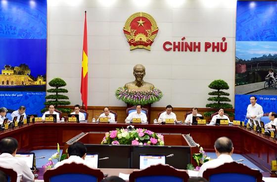 Chính phủ họp phiên thường kỳ tháng 8 ảnh 1