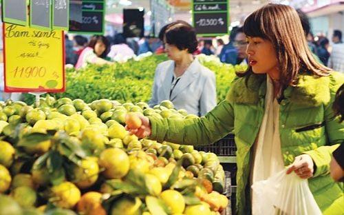 CPI tại Hà Nội tháng 2 tăng 0,49% ảnh 1