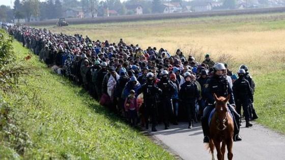 EU dọa cắt viện trợ 3 nước từ chối người tị nạn ảnh 1