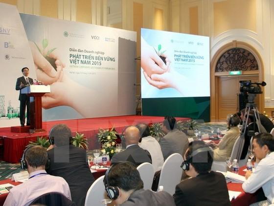 Diễn đàn DN phát triển bền vững Việt Nam 2015 ảnh 1