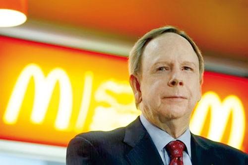 McDonald chuyển giao quyền lực ảnh 1