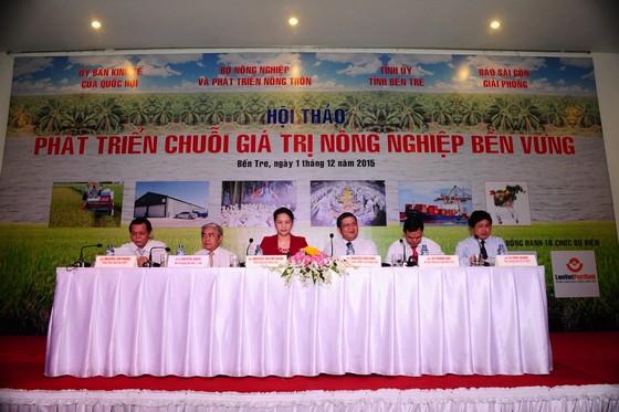 """Khai mạc hội thảo """" """"Phát triển chuỗi giá trị nông nghiệp bền vững"""" ảnh 1"""
