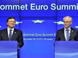 EU đạt thỏa thuận giải quyết nợ công ảnh 1