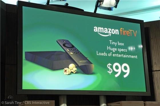 Amazon tung Fire TV cạnh tranh Google, Apple ảnh 1